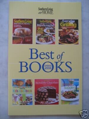 SOUTHERN LIVING AT HOME MINI COLLECTION COOKBOOK BEST OF BOOKS SPRING 2008 Mini Cookbook Collection