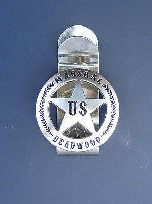 Western Decor Unique Cowboy ~Marshal Deadwood~ Concho Money Clip