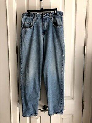 Gap Denim Best Basics Mens Baggy Fit Vintage Blue Jeans Size 32 x 32