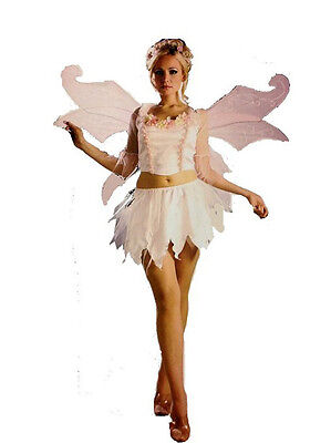 Halloween Costume Pink springtime Fairy Adult Woman Size S 6-9 or M 10-14