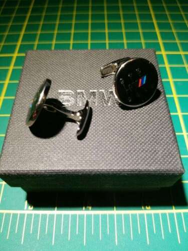 RARE BMW ///M Gearshift Cufflinks VERY RARE OEM Dealer exclusive 99000005477