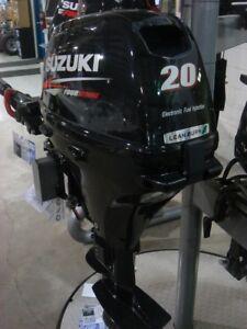 Non-Current Suzuki DF20AES - Short Shaft Electric Start Fuel Inj