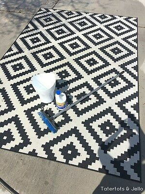 How To Salvage An Outdoor Rug By Cleaning It Yourself Ebay