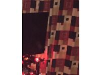 Large set lined curtains. X 3