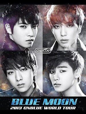 Rare CNBLUE 2013 BLUE MOON World Tour Live In SEOUL DVD :2DVD+PhotoBook+Freegift