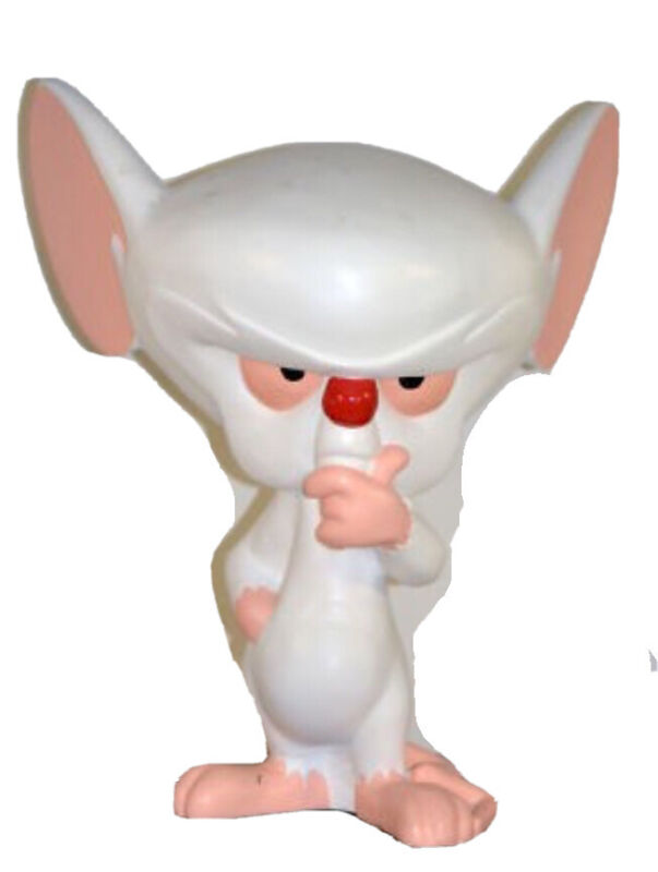 1997 WB Store X LARGE BRAIN Figure Statue From Pinky And The Brain NRFB RAREST!!