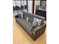 NEW TURKISH MALTA SOFA BED 3 SEATER OR 2 SEATER NOW IN STOCK