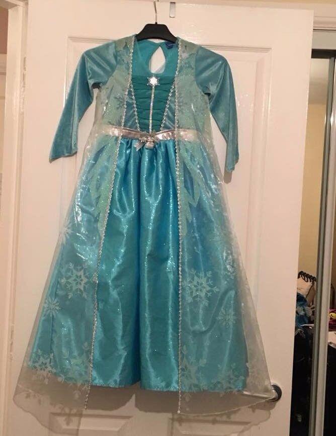 Disney Frozen Queen Elsa Costume Dress
