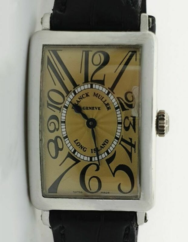 Franck Muller Long Island 18 K White Gold  – 950 QZ - watch picture 1