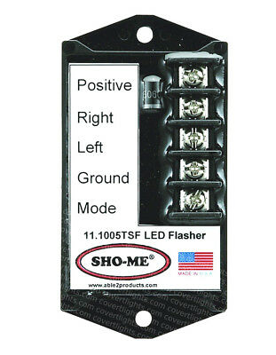 Sho-me Led Flasher - 7 Strobe Style Patterns-terminal Block 11.1005.tsf