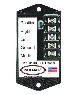 SHO-ME LED FLASHER - 7 STROBE STYLE PATTERNS-TERMINAL BLOCK