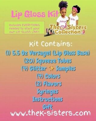 Lip Gloss Making Kit - Make Your Own Lip Gloss