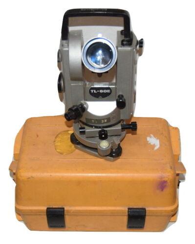 Topcon Theodolite TL-60E Transit Level With Case
