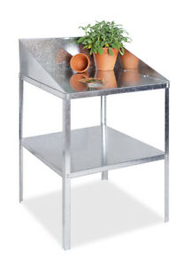 Lacewing Greenhouse Staging Shelving Shelves Bench Aluminium Metal Storage Shelf
