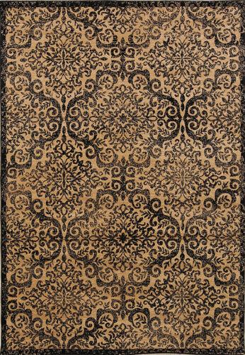 Transitional Geometric Floral 5x7 Belgium Oriental Area Rug