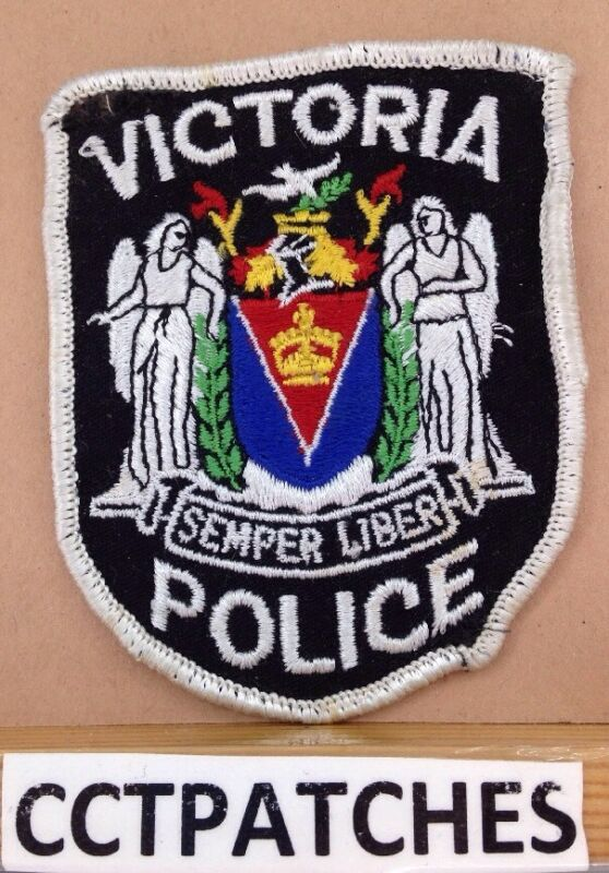 VICTORIA, CANADA POLICE SHOULDER PATCH
