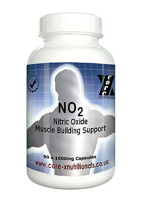 Stickstoffmonoxid- L Arginin - Pumpe Muskel Bodybuilding 1000 Mg Pro Kappe X 180 ()