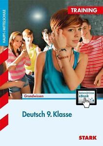 Training Haupt-/Mittelschule - Deutsch 9. Klasse von Marion der Kammer, ohne CD