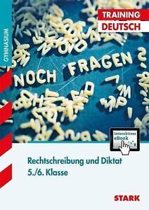 Training Deutsch Rechtschreibung und Diktat 5./6. Klasse, Taschenbuch