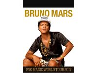 Bruno Mars Tickets x4, London O2 Friday 21st April £200 each