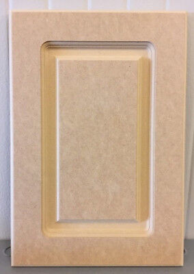 Custom, cut to size, replacement cabinet door and drawer fronts MDF raised panel