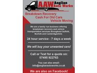 WE BUY Old Cars / Scrap Car / Cash 4 Cars / Collect Car / MOT Fail / Cash For Cars / Accident Damage