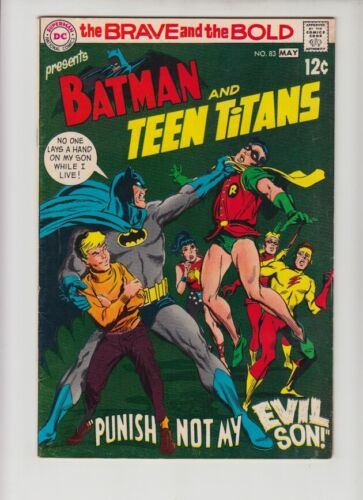 BRAVE AND THE BOLD #83 FN- NEAL ADAMS ART!!