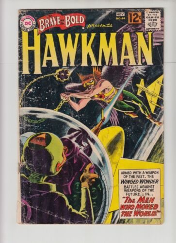 BRAVE AND THE BOLD #44 VG-