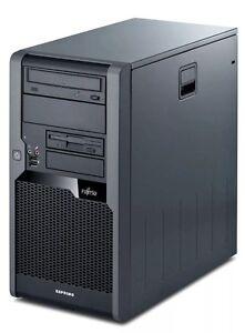 Fujitsu Esprimo P7935 Star5 Core2Duo 3GHz 4GB 250GB Rechner Win7 PRO Computer PC