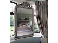 Extra Large Rococo Style Mirror
