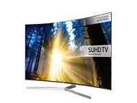 """Samsung 55"""" curved 4K SUHD 9 series smart led tv ue55ks9000"""