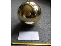 Giant Gold Christmas Bauble 40cm Diameter - £25 - Glenrothes