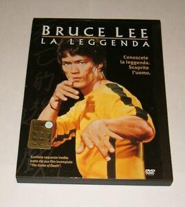BRUCE-LEE-LA-LEGGENDA-DVD-SNAPPER-fuori-catalogo-RARO