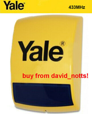 Yale Alarm 433Mhz Replacement / Additional Working Siren   NEW & VAT RECEIPT INC, used for sale  Nottingham