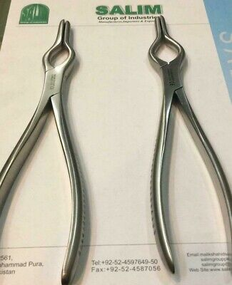 Walsham Forceps Right Left Ent Plastic Surgery Instruments