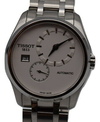 Tissot Couturier White Dial Automatic Men's Watch T035428