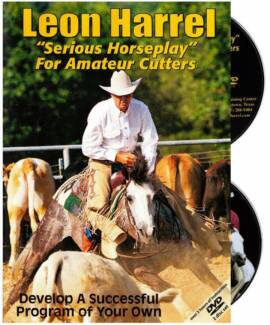 NEW DVD Serious Horseplay Training Cutting Quarter Horse Western