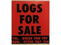 Softwood or hardwood Logs For Sale free delivery prices starting from £60
