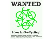 WANTED BIKES ANY CONDITION