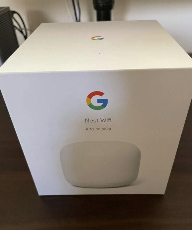 Google Nest Wifi Add-on Point - Snow