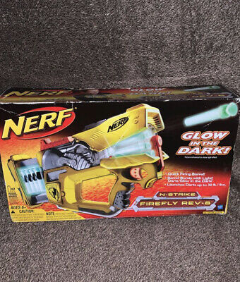 VINTAGE New Nerf Firefly Rev-8  N-Strike