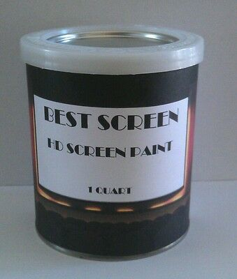 HD Projector / Projection Screen Paint BEST SCREEN NOW AVAILABLE ON EBAY!!!