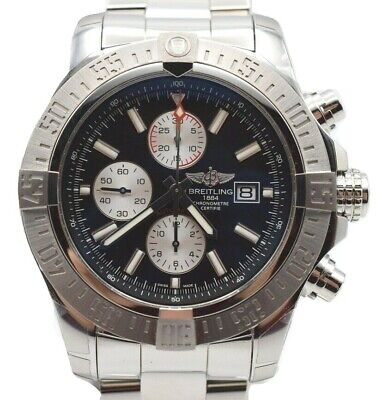 Breitling Super Avenger II Men's Automatic Watch 48mm A13371 NEW