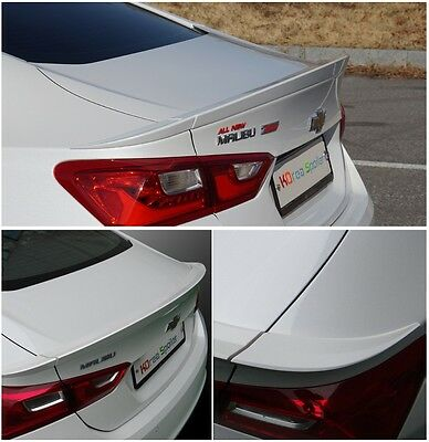 Rear Wing Trunk Lip Spoiler Painted 4Color For Chevrolet 2016 2017 Malibu