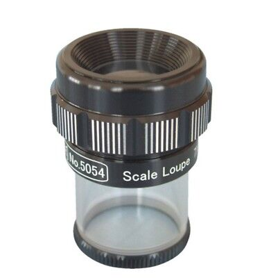 LEAF / STANDARD SCALE LOUPE X7 / 5054 / MADE IN JAPAN