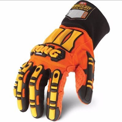 Original LARGE KONG Ironclad Safety Impact WORK GLOVES Hand Protection Oil Gas