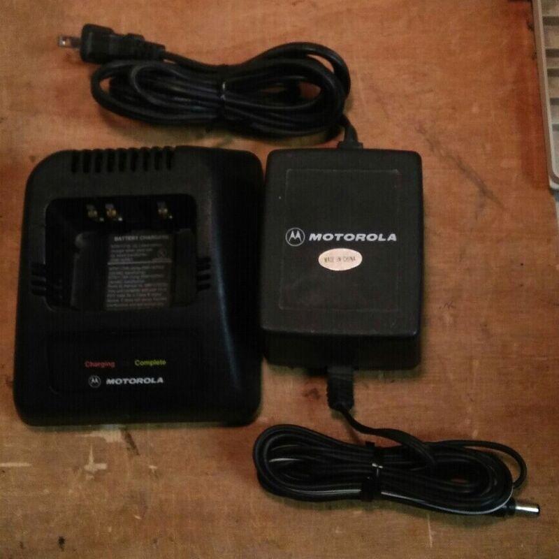 Motorola NTN1171A W/ 2580162R01 Power Supply (used) Tested & Working