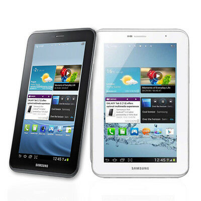 Unlocked 7'' Samsung Galaxy Tab 2 P3100 8GB Android Tablet Phone 3G White/Black