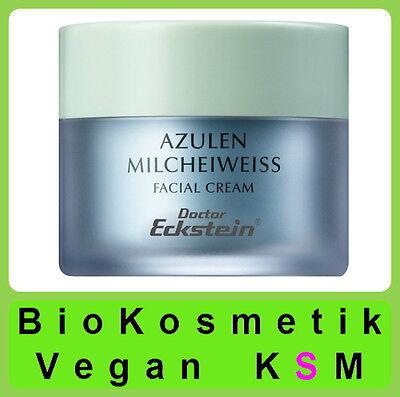 Dr. ECKSTEIN BioKosmetik Azulen Milcheiweiss, für sehr trockene oder zarte Haut.