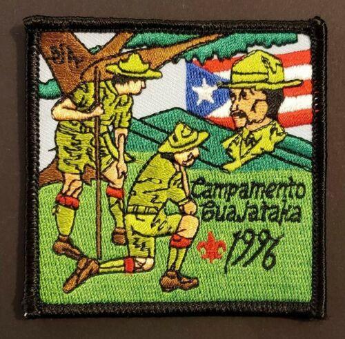 VINTAGE BSA / BOY SCOUT PATCH / CAMP GUAJATAKA / PUERTO RICO 1996